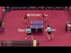 판젠동 리앙징쿤vs웡츈팅 호콴킷 2017 카타르오픈 FAN Zhendong LIANG Jingkun   WONG Chun Ting...