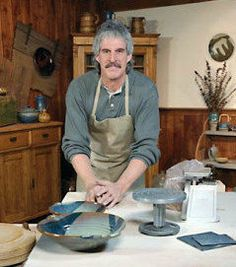"If you're one of the growing numbers of pottery enthusiasts around the country, you'll love this workshop: DIY's Throwing Clay. Host and master potter Bill Van Gilder demonstrates the techniques used to make a variety of ceramics projects, from frame-molded, hand-built plates to deep-walled baking dishes turned on the potter's wheel. You'll get ""fired up"" about Throwing Clay!"