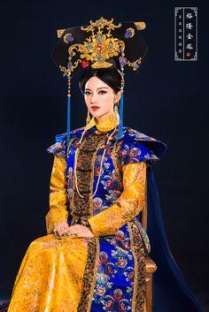 微博 Oriental Dress, Oriental Fashion, Asian Fashion, Army Costume, Folk Costume, Traditional Fashion, Traditional Outfits, Traditional Chinese, Dynasty Clothing