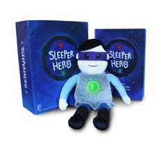 SleeperHero book and doll - to help your little one conquer their nighttime fears.  red light/green light for when it's ok to get up, too!