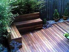 Another corner bench