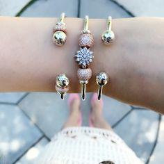 Pandora Jewelry OFF! Pandora Open Bangle, Pandora Bracelet Charms, Pandora Jewelry, Charm Bracelets, Cute Jewelry, Jewelry Shop, Women Jewelry, Ladies Jewelry, Jewelry Rings