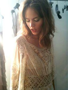 Freja Beha. Inspiration for A Crime of Fashion. #ModelUnderCover #CrimeofFashion
