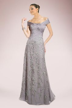 I like this. Do you think I should buy it?  Glamorous A-Line Mother of the Bride Dress with Exquisite Appliques