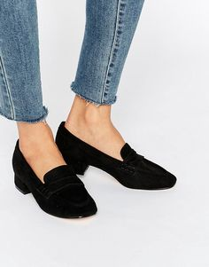 Truffle Low Heel Soft Loafer
