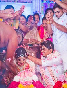 The Extravagant Wedding Tale Of Nila And Vinesh Gala Time, Telugu Brides, South Asian Bride, Real Weddings, Destination Wedding, Marriage, Wedding Photography, Indian, Candid
