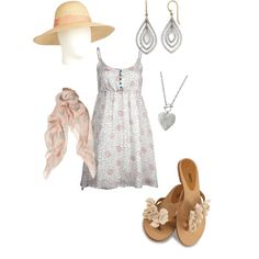 sweet summertime date night outfit