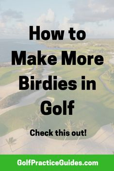 Use these beginner golf tips to help you make more birdies in golf. Golf Instructors, Golf Score, Golf Putting Tips, Chipping Tips, Golf Day, Golf Practice, Driving Tips, Golf Tips For Beginners, Golf Lessons