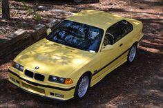 1995 BMW M3 Dakar Yellow
