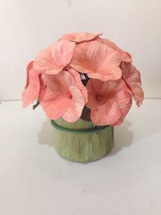 Cornhusk flower arrangement