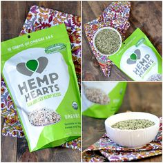 Manitoba Hemp Hearts @Cara's Cravings Recipes using hemp hearts