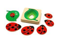 Anabelle - Ladybug wooden toy