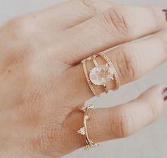 oval rutilated Quartz from nataliemarie jewelry