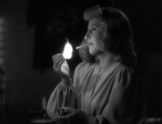 Barbara Stanwyck. Double indemnity