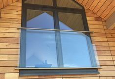 Juliet Glass Balcony System - Fixings and Components. Everything You Need To Create A Stunning Juliet Balcony Attic Playroom, Attic Office, Attic Rooms, Garage Attic, Attic Closet, Balcon Juliette, Juliette Balcony, Glass Juliet Balcony, Glass Balcony