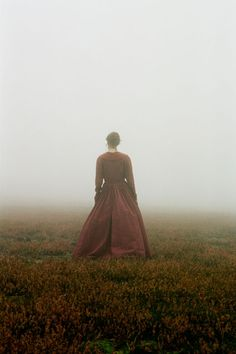 Claire and the mists of Culloden.  I've been there.  It is spiritual.