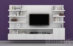 Modulares para Living, Tv, lcd, led. Wall unit, muebles para Tv, racks, rack, modulares, muebles para lcd, muebles modernos lcd, muebles led, #mueblesparatv