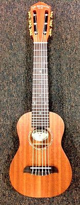 L D Zerone Co GU6S Solid Top 6 String Guitalele