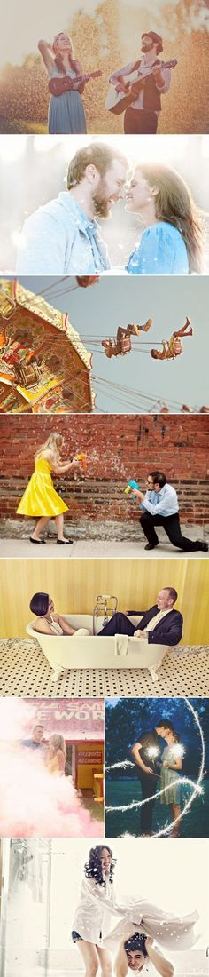 37 Fun and Creative Engagement Photos - Praise Wedding Wedding Prep, Wedding Goals, Wedding Shoot, Dream Wedding, Engagement Pictures, Engagement Shoots, Wedding Engagement, Couple Photography Poses, Engagement Photography