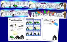 Arctic Explorers Role Play Printables