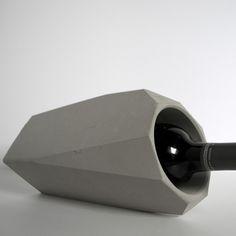 Sleek and Stylish Corvi Concrete Wine Cooler
