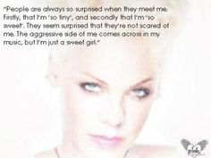 P!NK QUOTES | The Official P!nk Site