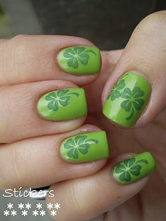 Nails, wanted!: St. Patrick mani