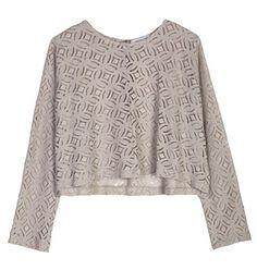 Lace longsleeve blouse Shape, Boho, Clothes For Women, Sweatshirts, Blouse, Long Sleeve, Sweaters, Jackets, Collection