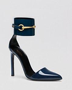 Gucci Pump - Ursula Ankle Strap High Heel