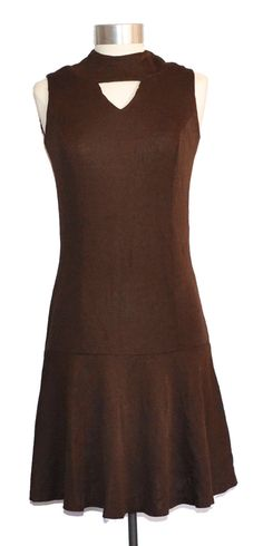 Vintage Drop-Waist Sleeveless Dress item #9043 by MercantileRepublic on Etsy