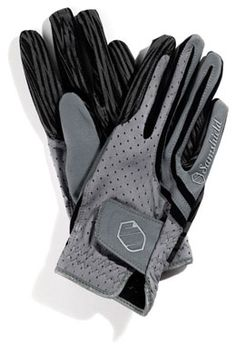 Noble Equestrian Horse Equine Gloves Purple Ash Touchscreen Friendly