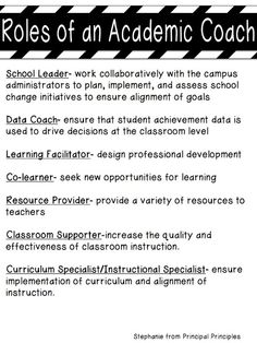 A little video: Instructional Coaches! How are your plans coming along as you get ready for back to school? I wanted to share a short video about the Instructional Coach binder wi. School Leadership, Leadership Coaching, Educational Leadership, Educational Administration, Life Coaching, Leadership Development, Leadership Quotes, Educational Technology, School Counseling