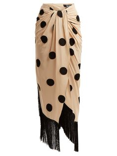 837c93a50f53 Jacquemus Pareo polka-dot sarong skirt Sarong Skirt