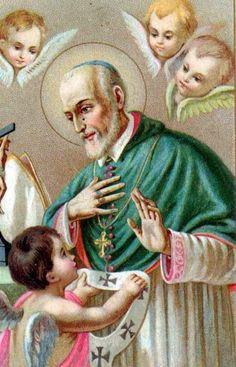 Santos, Beatos, Veneráveis e Servos de Deus: SANTO ALESSANDRO SAULI, Bispo Barnabita.
