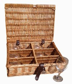 The best Drinks Basket 6 Glass Hamper in Dark Leather are selling out fast  http://redhamper.co.uk/drinks-basket-6-glass-hamper-in-dark-leather/  #drinksbaskets #shoppingbaskets