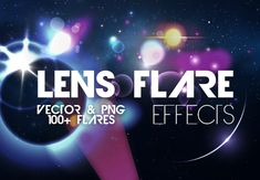 The easiest way to apply lighting effects without Photoshop brushes - 100 Lens Flare Effects  - Only $14.99