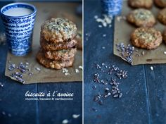 Goûter // biscuits avoine, chocobanane, cardamome. emiliemurmure.com