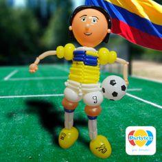 Faltan pocos días para el inicio del mundial y #Partytex también esta presente con nuestros productos y hermosas esculturas realizadas en Globos Mil Figuras.   @Partytex - Latex de Colombia S.A.S. #partytex #globos #globoflexia #balloons #balões #milfiguras #twisty partytex.com.