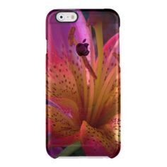 #beauty - #Pink Lily - Beautiful Mess Clear iPhone 6/6S Case