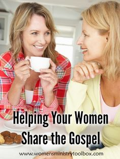 Do your women feel comfortable and confident in sharing the gospel? Here's some ideas to help the women in your women's ministry groups to share the gospel. Ministry Leadership, Leadership Tips, Womens Ministry Events, Christian Women's Ministry, Four Gospels, Find Friends, Relief Society, Bible Lessons, Toolbox