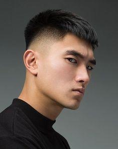 Asian Men Short Hairstyle, Korean Boy Hairstyle, Asian Man Haircut, Korean Haircut, Asian Short Hair, Short Hair Cuts, Short Hair Styles, Korean Hairstyles, Japanese Hairstyles