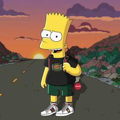 8 Best Hypebeast Simpsons Images Simpsons Art Supreme