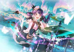 Anime Girl Neko, Anime Girl Cute, Anime Girls, Dream Background, Dream Anime, Felder, Dream Art, Girl Bands, Magical Girl