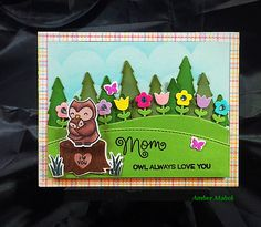 Hi Everyone, it's time for another Fawny Flickr Friday! We thought we would share some of the amazing Mother's Day cards we found! We were so inspired by all the creative ways you all used Mom+Me and