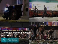 Las Vegas shooting: At least two dead after gunfire at Route 91 festival near Mandalay Bay - latest news