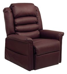 CatNapper Invincible Power Lift Full Lay-Out Chaise Recliner - Cabernet - Paul's chair - office?