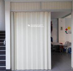 Door Panel Curtains, Panel Doors, Shower Towel, Simple Rangoli, Apartment Interior, Creative Decor, Glass Door, Garage Doors, New Homes