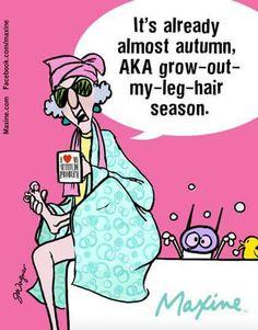 Maxine on Autumn
