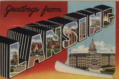 Postcard. ca. 1945 (via Seeking Michigan)