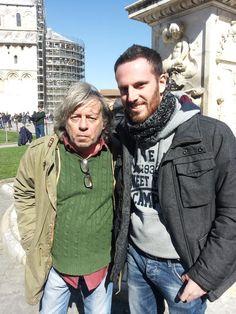 Paolo Rossi a Pisa con Antonio Mastella